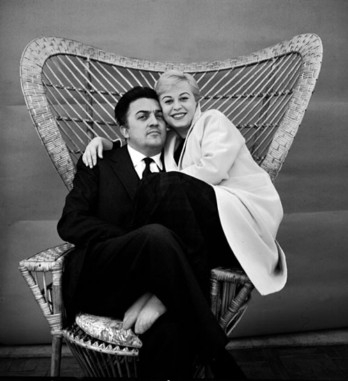 Giulietta Masina, Federico Fellini