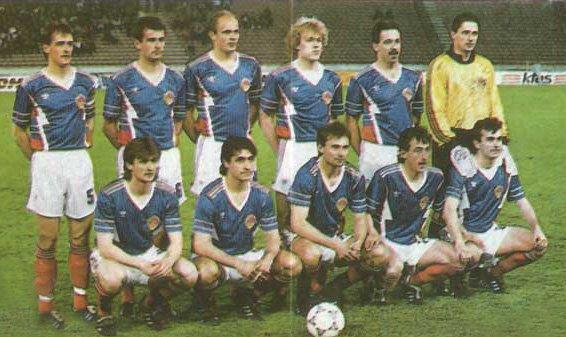 1 - fudbal reprezentacija 1992