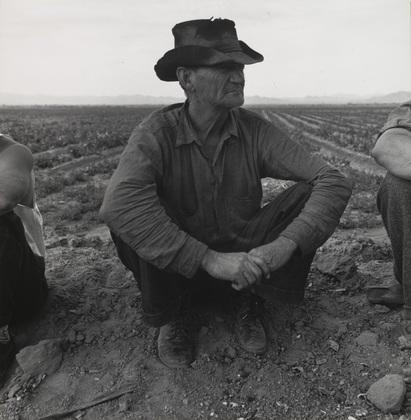 Doroteja Lang, Ljudi bez posla pored polja graška