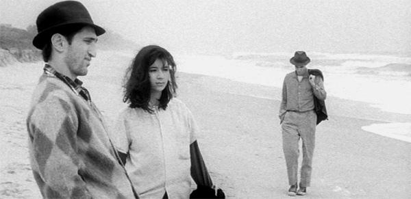 Eddie (Richard Edson), Eva (Eszter Balint), Willie (John Lurie)