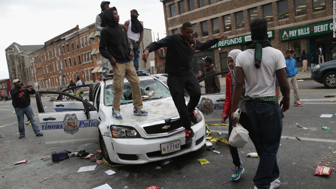 Ulicno nasilje iz Baltimora
