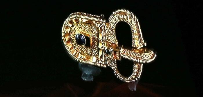 avarski zlatni prsten