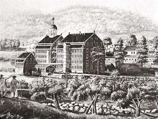 Bostonska kompanija, Voltam, Masačusets, početkom 19. veka