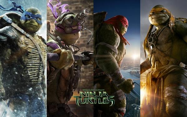 """1 """"Nindža kornjače"""" (2014)"""