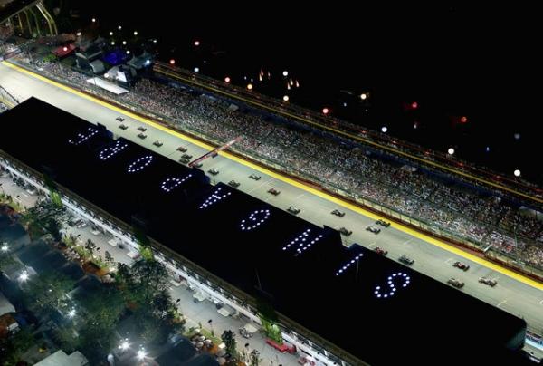 1 - Formula 1: Dominacija Fetela u Singapuru