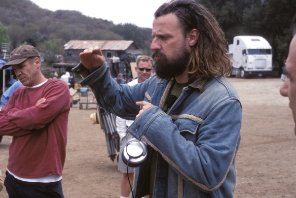 "Rob Zombi na setu filma ""Devils Rejects"""