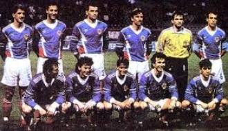 2 - fudbal reprezentacija 1992