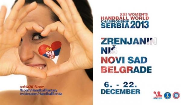 3 Svetsko prvenstvo za rukometašice 2013 Srbija