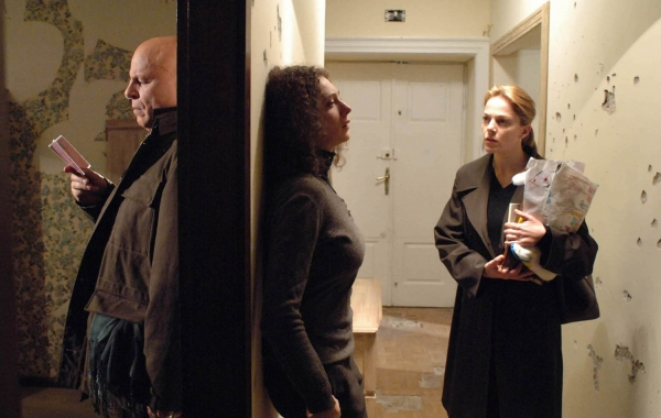 Muffa (Michele Placido), Irena (Kseniya Rappoport), Valeria Adacher (Claudia Gerini)