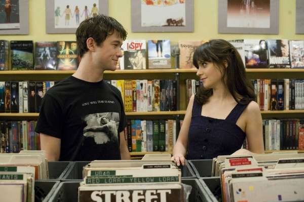 Tom Hansen (Joseph Gordon-Levitt), Summer Finn (Zooey Deschanel) - (500) Days of Summer