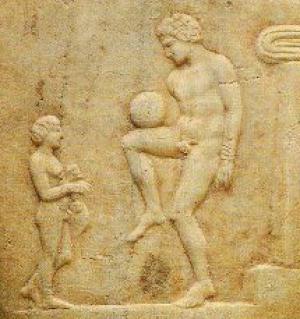 anticki grcki fudbaler
