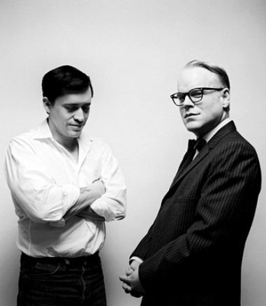 Capote (2005) - Perry Smith (Clifton Collins Jr.), Truman Capote (Philip Seymour Hoffman)