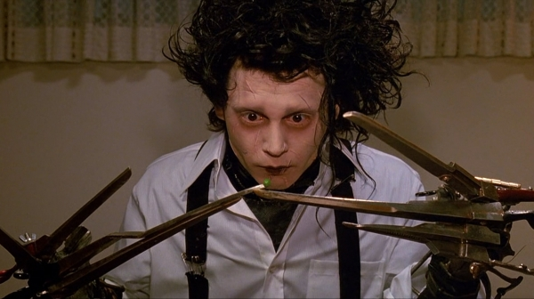 Edward Scissorhands (Johnny Depp)