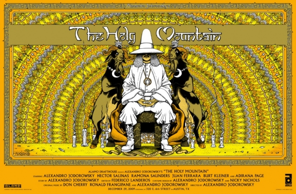 """1 """"The Holy Mountain"""" (1973)"""