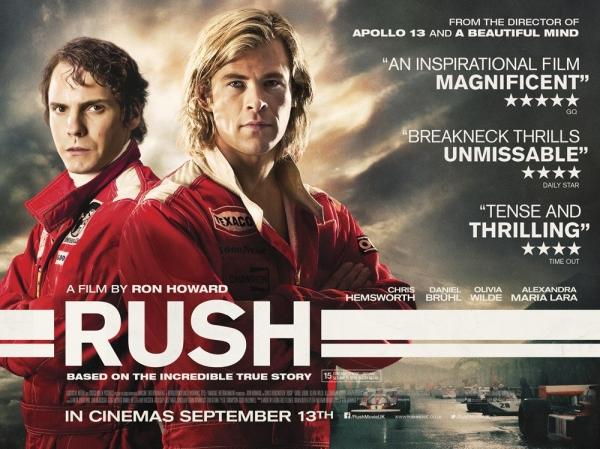 Najava filma: Trka života / Rush (2013)