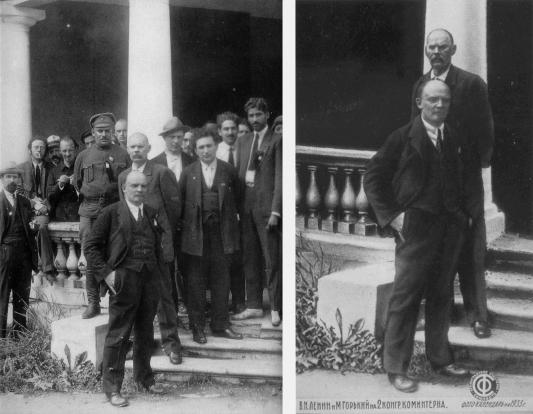 Maksim Gorki (levo - original; desno - izmenjena verzija)