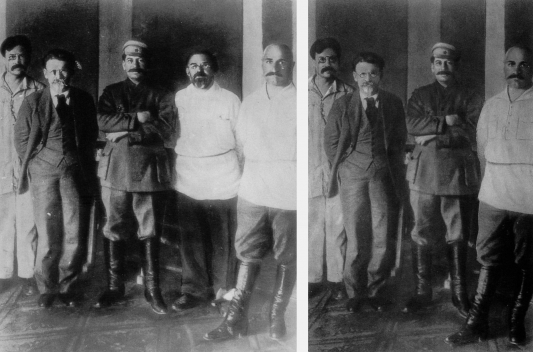 Petrovski (levo - original; desno - izmenjena verzija)