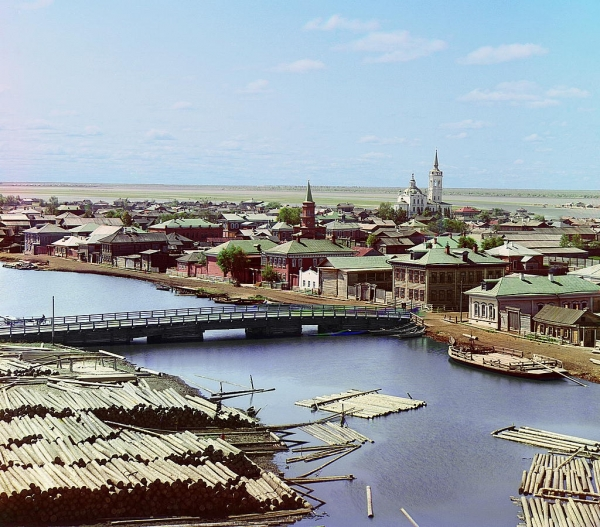 Pogleda na ruski grad Toboljsk