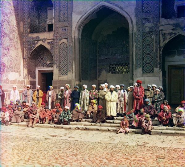 Lokalno stanovništvo Samarkanda