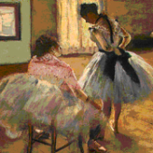 Čas plesa (1879) - detalj 2