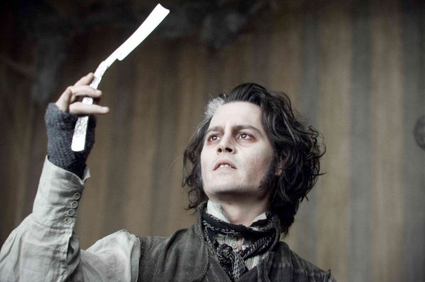Benjamin Barker/Sweeney Todd (Johnny Depp)