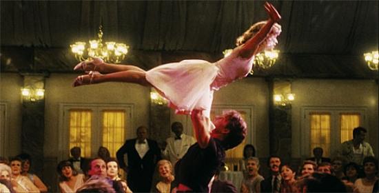 "Dirty Dancing (1987) - Frances ""Baby"" Houseman (Jennifer Grey), Johnny Castle (Patrick Swayze)"