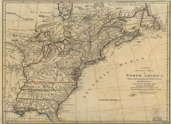 Nova Engleska u drugoj polovini 18. veka