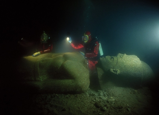 Podvodna otkrića Egipta - Heraklion